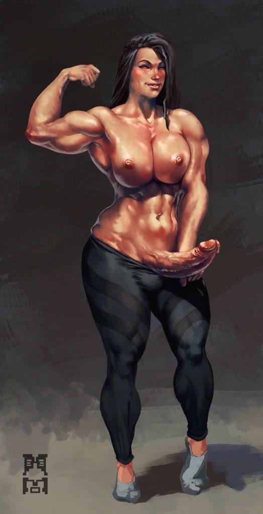 futanari muscle porn